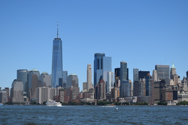 View of Manhattan Skyline from New Jersey