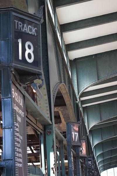 Old Rail Terminal - Liberty State Park New Jersey, U.S.A
