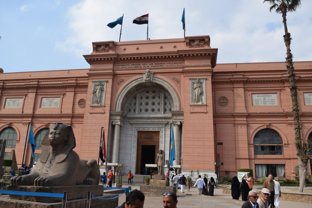 The Museum of Egyptian Antiquities, known commonly as the Egyptian Museum or Museum of Cairo