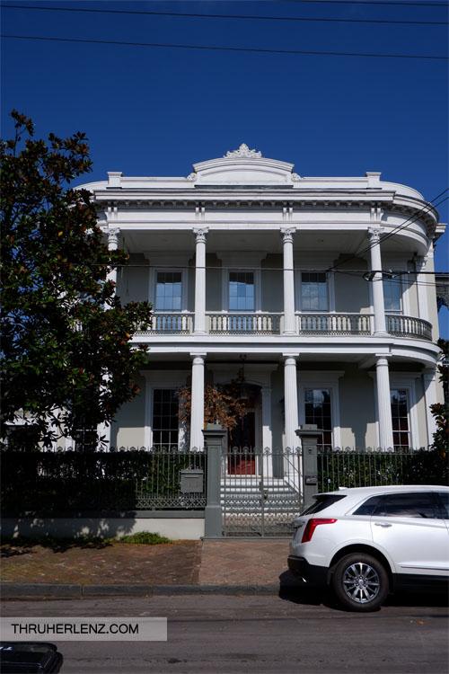Wealthy Virginia banker, Walter Robinson's Garden District home. The Walter Robinson House