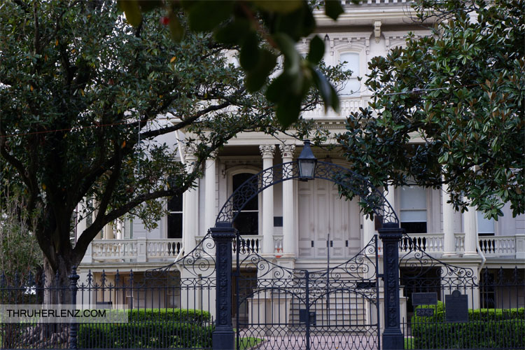 Bradish Johnson property is the private Louise S. McGehee School for girls