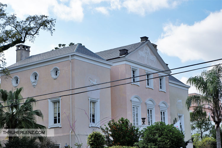 """The """"Horse"""" House in the Garden District"""