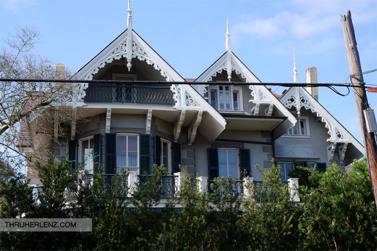 The Koch-Mays House and home to Hollywood actress Sandra Bullock