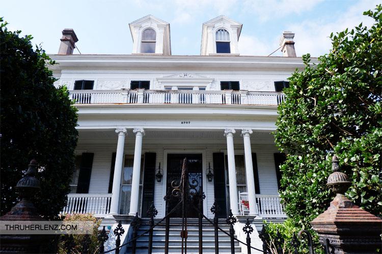 Benjamin Button House on 2705 Coliseum Street