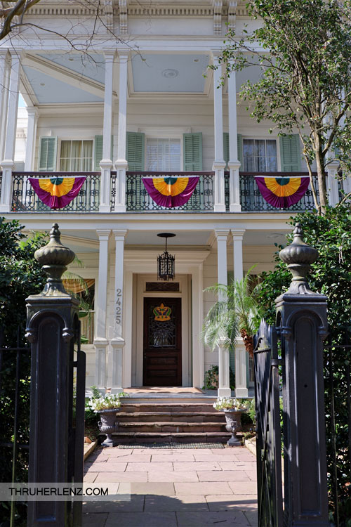 John Goodman's New Orleans Home currently but known as the Joseph Merrick Jones House