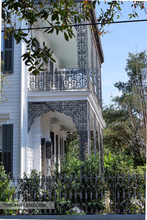 Musson-Bell House in Garden District