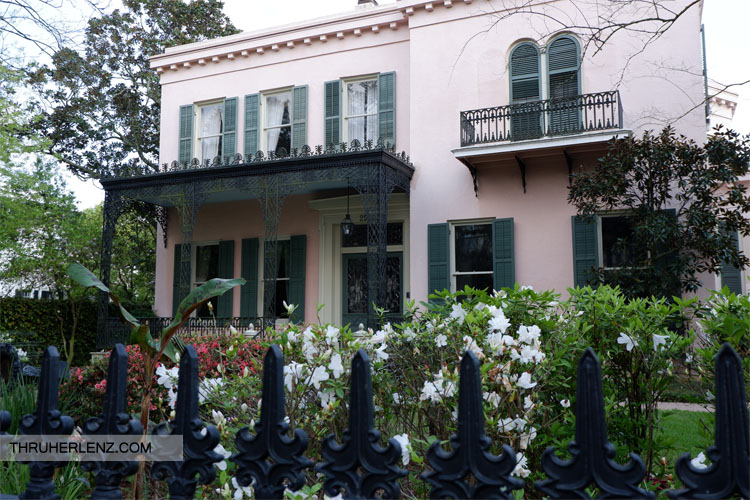 Prytania Street with Italianate Architectures style