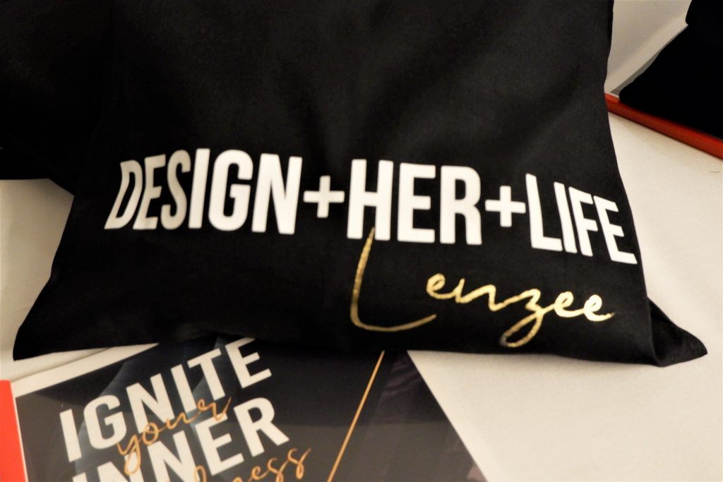 Design Her Life Retreat Gift Bag