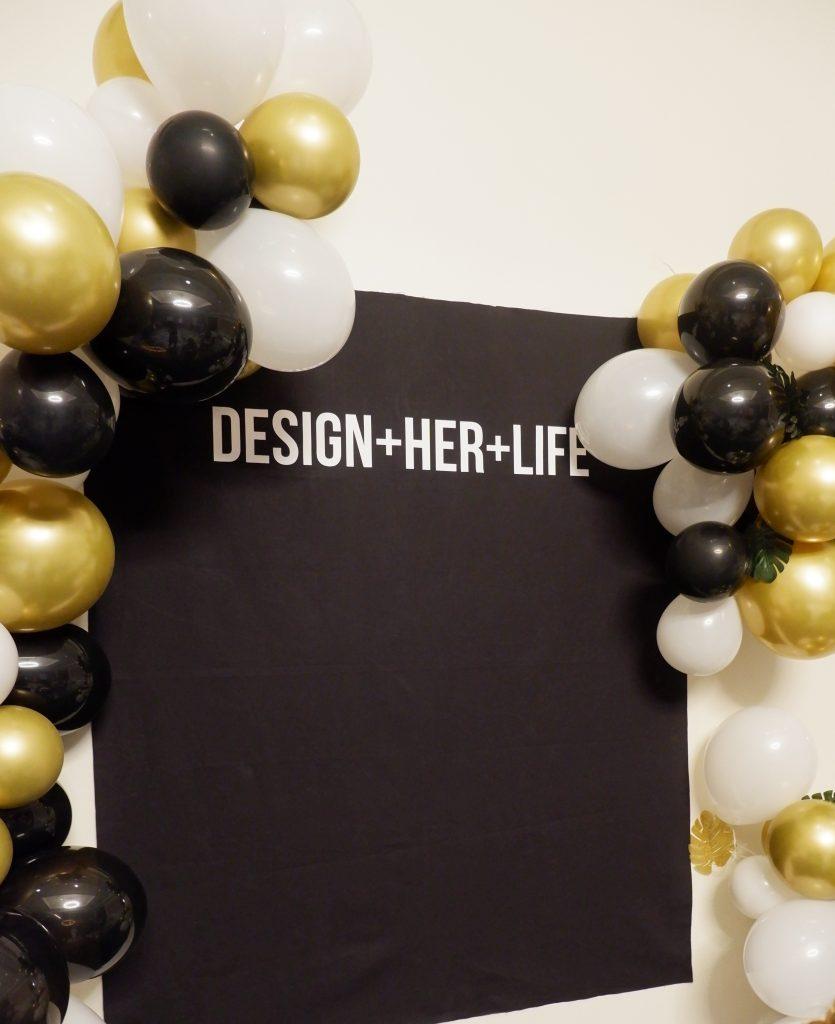 Design Her Life Retreat Sign