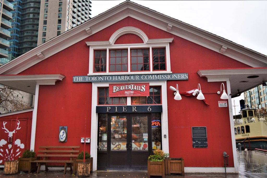 BeaverTails in Downtown Toronto Location on Queen's Quay