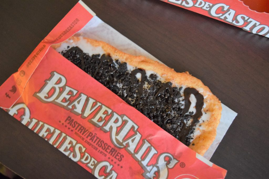 Cookies and Cream BeaverTail