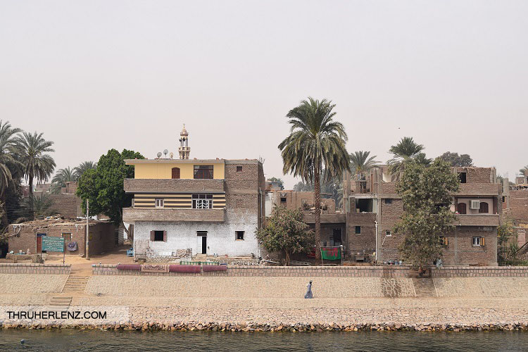 Egypt everyday life Along the Nile River