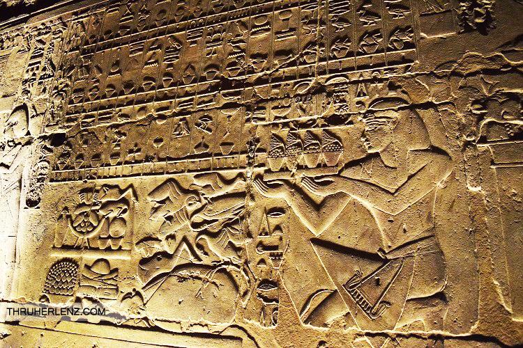 Luxor Temple Hieroglyphics