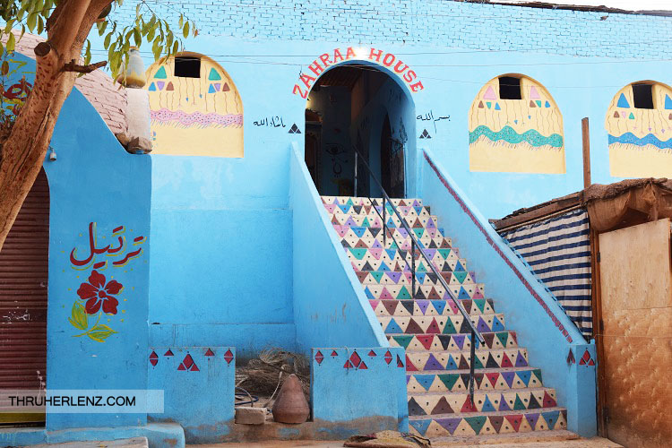 The Zahraa House in the Nubian Village.