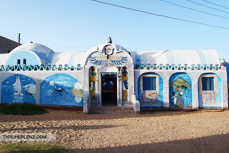 A building in the Nubian Village.
