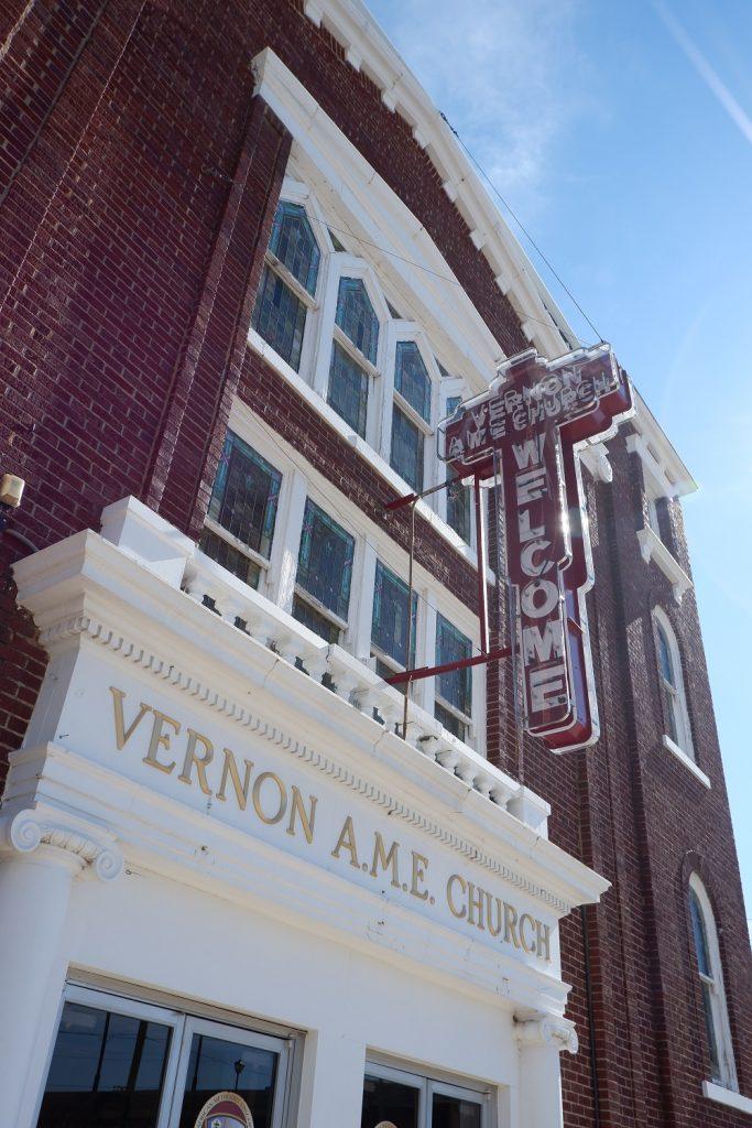 Vernon A.M.E Church in Tulsa, Oklahoma on Black Wall Street